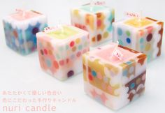 【楽天市場】nuri candle キャンドル作家 福間乃梨子 手作りキャンドル:クラフトカフェ