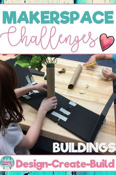 Combine thematic units and creative, artistic, outside-the-box thinking in these STEM and STEAM Makerspace activities about buildings! They are a great way to incorporate STEM into your core Reading, Math, Science or Social Studies instruction. They come