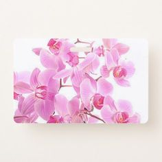 Show off your identification at work, VIP lounges, and backstage at exclusive events with Flowers badges from Zazzle. Pink Orchids, Id Badge, Floral Style, Stylish, Flowers, Diy, Gifts, Presents, Bricolage