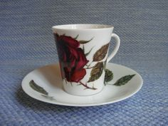 Arabia, Ruusu, D-malli Coffee Cups, Tea Cups, Some Times, Marimekko, Old Toys, Finland, Scandinavian, Old Things, Mugs