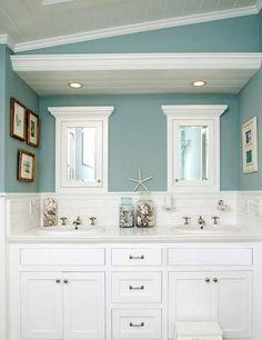Beautiful Beach Themed Bathroom