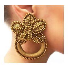 Funky Earrings, Feather Earrings, Stone Earrings, Bead Earrings, Crochet Earrings, Ear Jewelry, Beaded Jewelry, Jewelery, Handmade Jewelry Tutorials