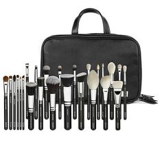 Makeup Artist Zoe Bag by ZOEVA - 'Release your inner makeup artist and invest in this ultimate collection of 25 professional-grade brushes. It contains all brushes you need to create a full face of catwalk to red carpet inspired looks. Housed in our popular ZOE BAG, this set will have you ready for instant portability.'