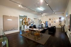 The Brett Whiteley Studio was the home and workplace of Australian artist, Brett Whiteley (1939‑92). The artist bought the former warehouse in 1985 and converted it into a studio and exhibition space. He lived there from 1988 to 1992, the year he died.