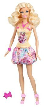 Barbie Easter Doll is dressed in an adorable Easter themed outfit... #barbie #gifts #Easter