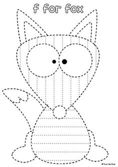 Alphabet Tracing Pages {A Pre-Writing & Phonics Activity} Alphabet Tracing, Alphabet Coloring Pages, Alphabet Worksheets, English Worksheets For Kindergarten, Preschool Worksheets, Free Preschool, Preschool Learning, Letter I Crafts, Shape Tracing Worksheets