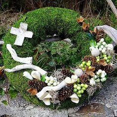 Dušičkový mecháček - zelené bobulky