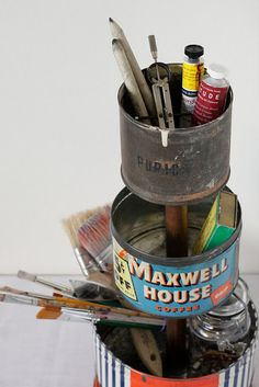 love this! made from old cans!