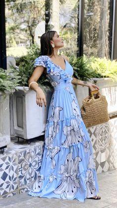 Simple Dresses, Nice Dresses, Casual Dresses, Fashion Dresses, Summer Dresses, Delphiniums, Mom Dress, Mode Style, Flare Dress