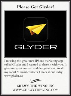 Please Get Glyder!