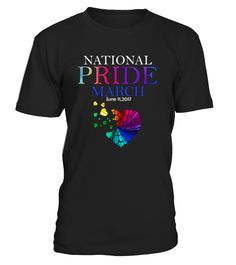 Cute National Pride March T Shirt LGBT Funny Cute T-shirt, Best Cute T-shirt
