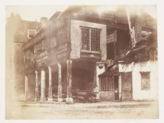 Corn Exchange, Bristol, 1848. Salted paper print from calotype negative.