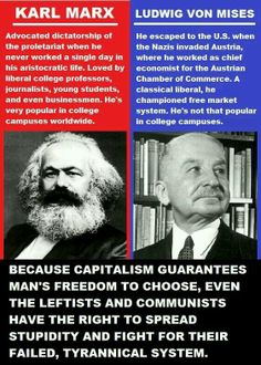 #Mises ((bona fide liberal)) vs karl (not liberal