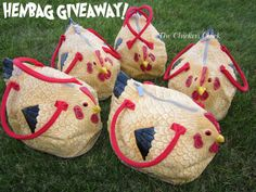 I just love these Hen Bags!