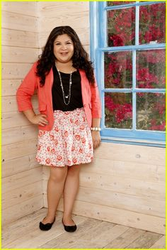 Raini Rodriguez-Zena I can't watch her on TV and not think of you!  Not the weight just the sass!