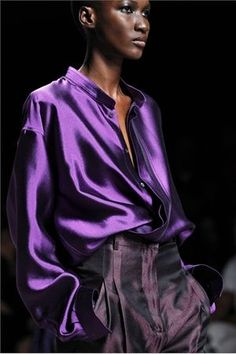 Fashion silk and color - Haider Ackermann