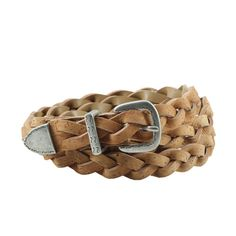 Dress Decoration Braided Cork Belt