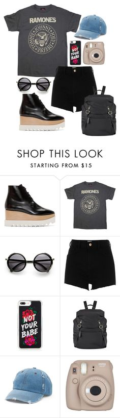"""""""Power of the World"""" by chelsofly on Polyvore featuring STELLA McCARTNEY, River Island, Cole Haan, Mudd and Fujifilm"""