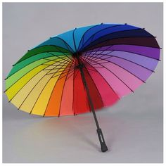 31.67$  Buy now - http://vibzp.justgood.pw/vig/item.php?t=9wer8r50949 - ? Multicolour Windproof Rainbow Umbrella Pagoda Sun Parasol Wedding Party Favor 31.67$