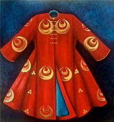 Semiha Şakir Elveren Trending Fashion, Caftans, Islamic Art, Adult Coloring, Shawl, Miniature, Women Wear, Costumes, Fashion Outfits