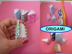DIY Origami Notizbuch SCHNELL und EINFACH falten, Mini Modular Book easy Tutorial, Оригами книжка - YouTube
