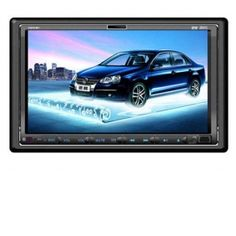 7\ Two din Car DVD Player with touch screen, TV, Radio, Bluetooth, iPod, USB/SD and GPS