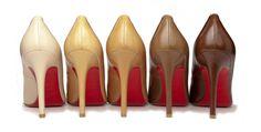 Louboutin e sua coleção de sapatilhas em tons nude 2