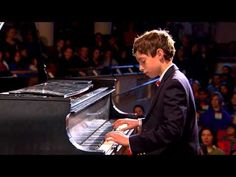 Chopin Etude Op.10 No.5 In G Flat Major (Black Key): Blake Frank at TEDxYouth@BeaconStreet - YouTube