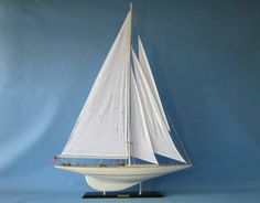 Sailboat,Yacht Models, Boat Models, America's Cup Replica Model