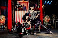 A Dark Circus Inspiration Shoot