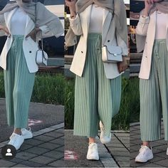 20 Amazing Women's outfit That Will Blow Your Mind! Hijab Fashion Summer, Modest Fashion Hijab, Modern Hijab Fashion, Street Hijab Fashion, Hijab Fashion Inspiration, Muslim Fashion, Fashion Fashion, Hijab Casual, Hijab Outfit