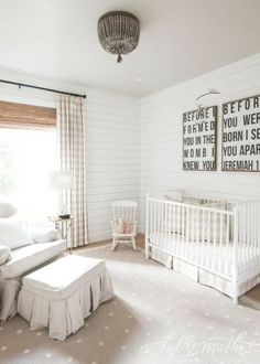 Read on to find out about more Modern Farmhouse Nursery Ideas