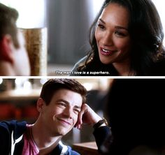 Barry glowing like a small sun when his gf compliments him is so beautiful :)))