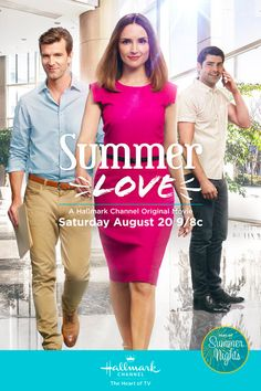 SUMMER LOVE - A widowed mom gets a summer internship at a tech company and draws the attention of two very different executives while learning about about accounting, app designs and finding love.   Starring Rachael Leigh Cook, Lucas Bryant and Travis Milne