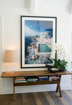 A Slim Aarons favorite! Gorgeous front entry decor that the entire family loves. Slim Aarons prints available at Photos.com