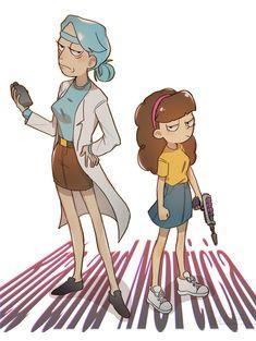 Rita and Morticia
