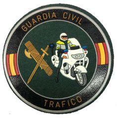 Escudo Guardia Civil Tráfico termoplástico, Airemilitar