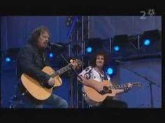 Brian May & Zucchero @ 46664 Arctic / Cosi Celeste - YouTube