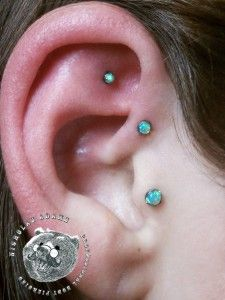 Gorgeous opals and placement