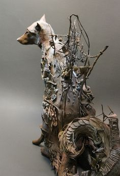 Ellen Jewett - intricate and one-of-a-kind animal sculptures
