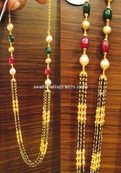 Black Diamond Gold Chains