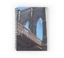 Brooklyn Bridge New York Spiral Notebook from Red Bubble: http://www.redbubble.com/people/cyn75/works/10282519-bridge-new-york?asc=u