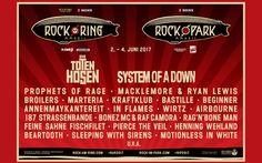 Rock am Ring / Rock im Park 2017 - Line-Up