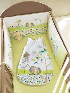 #Gigoteuse bébé brodée thème Pic-nic - Collection Printemps été 2014 www.vertbaudet.fr