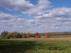 Wightman Farms Clinton NY on the Hill in the Fall