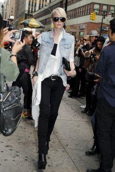 rockstar. #KateLanphear in NYC.
