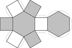 desplegados figuras geometricas - Buscar con Google