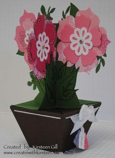 pop-up-vase-card--  Creatin' With Kirsteen