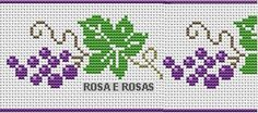 This Pin was discovered by Вал Cross Stitch Fruit, Cross Stitch Kitchen, Cute Cross Stitch, Cross Stitch Rose, Cross Stitch Borders, Cross Stitch Designs, Cross Stitching, Cross Stitch Embroidery, Hand Embroidery