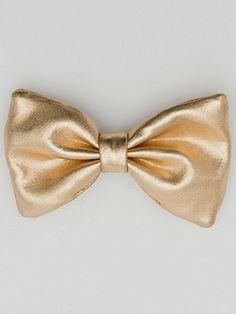 Small Bow Hair Clip | American Apparel